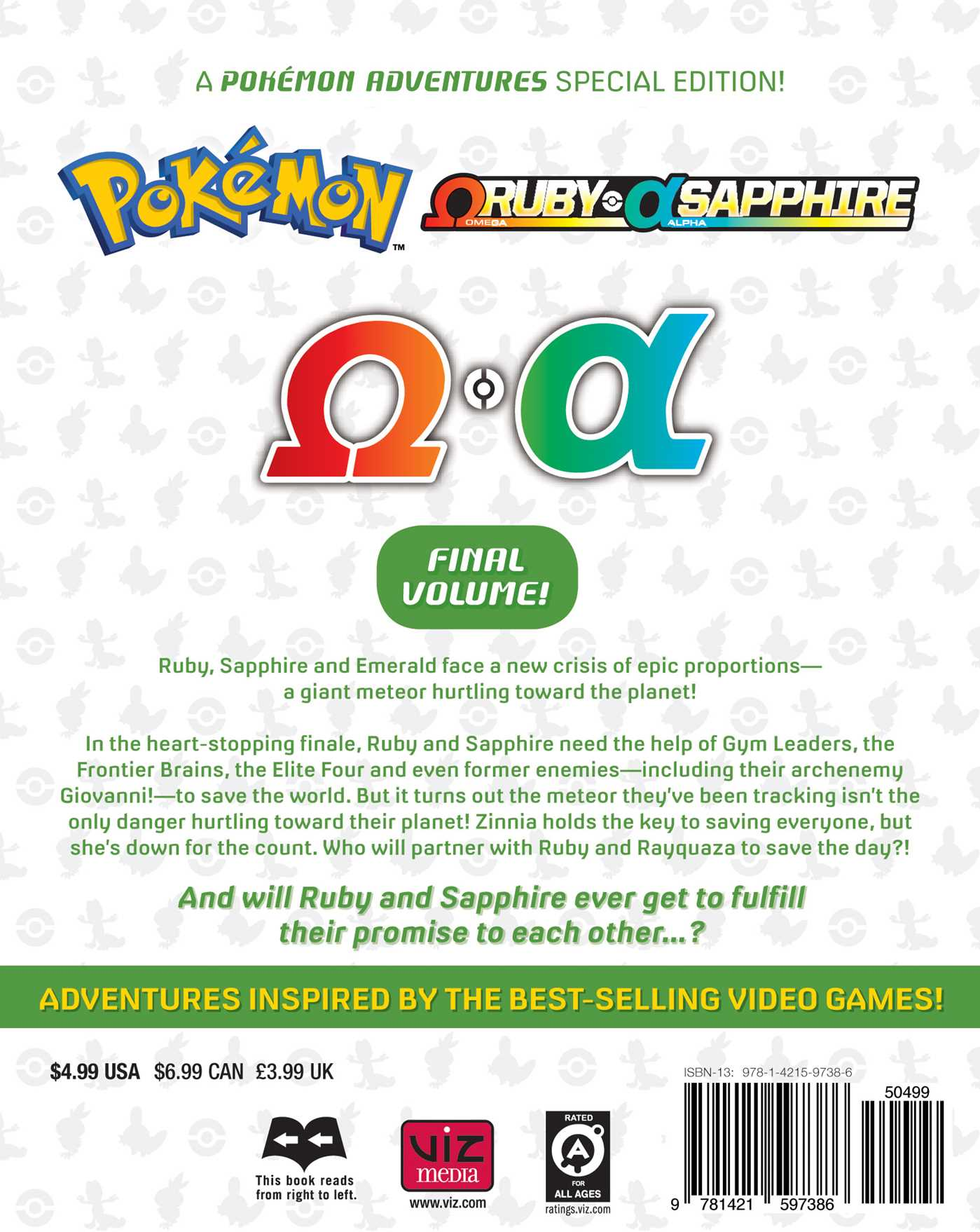 Pokemon omega ruby alpha sapphire vol 6 9781421597386 hr back