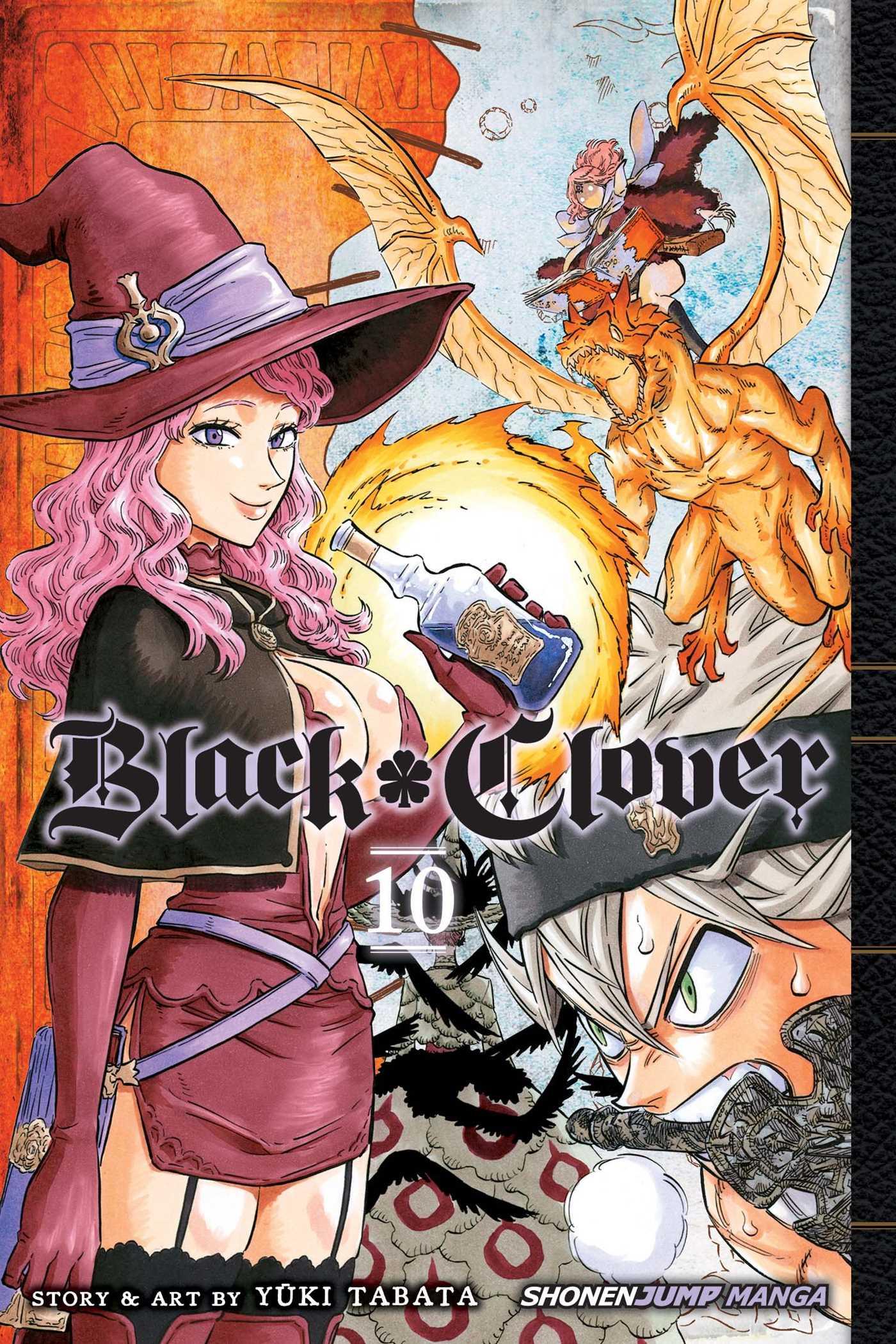 Black Clover Vol 10 Book By Yuki Tabata Official