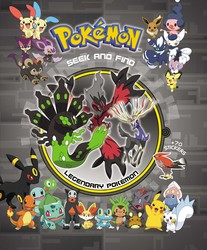 Pokémon Seek and Find - Legendary Pokemon