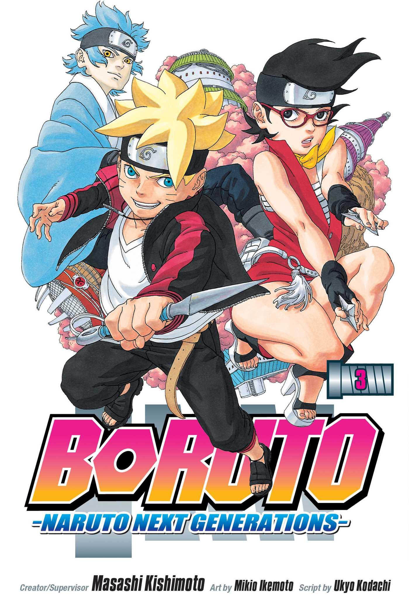 Boruto, Vol. 3 | Book by Masashi Kishimoto, Mikio Ikemoto, Ukyo Kodachi | Official Publisher ...