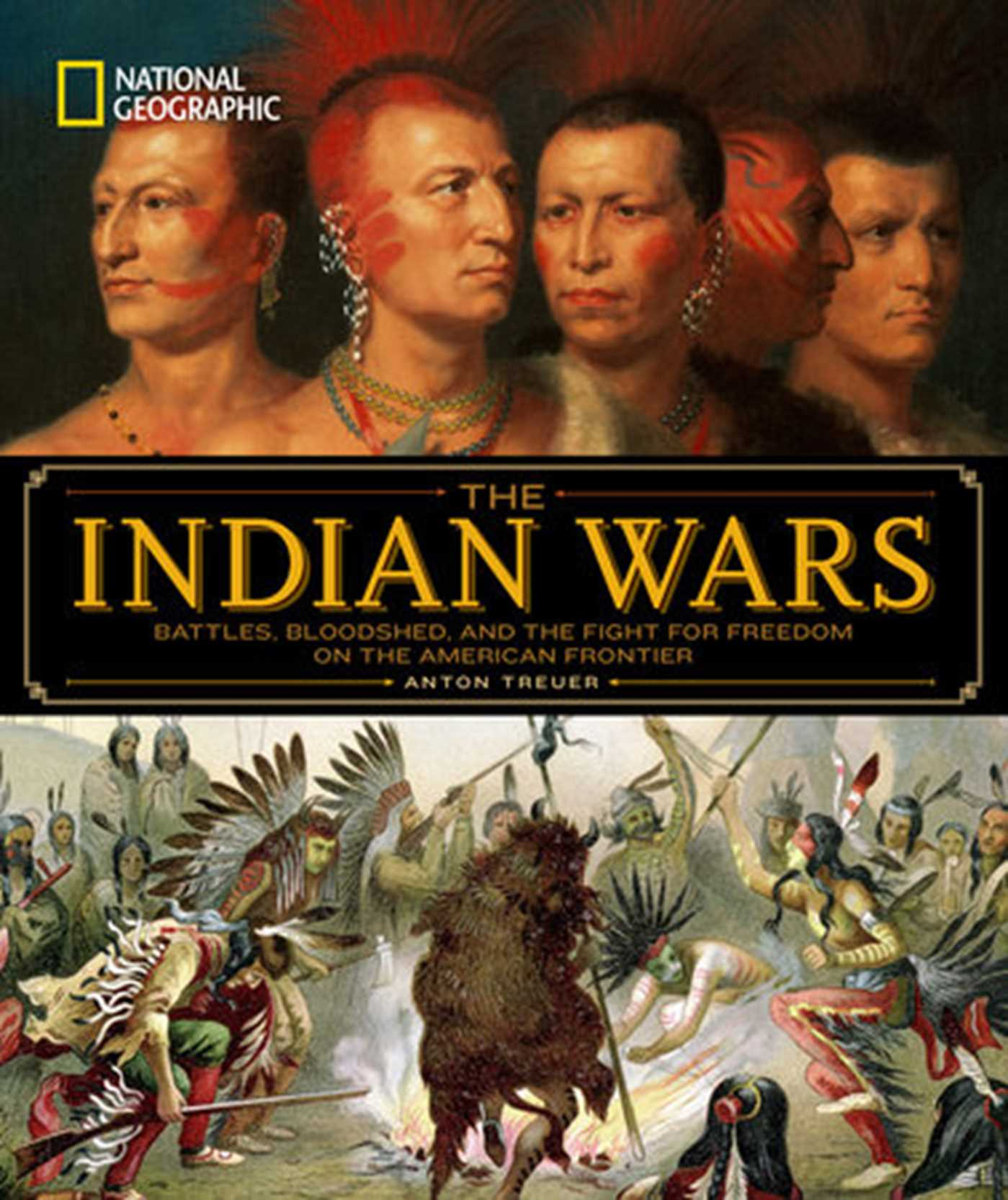 National geographic the indian wars 9781426217432 hr
