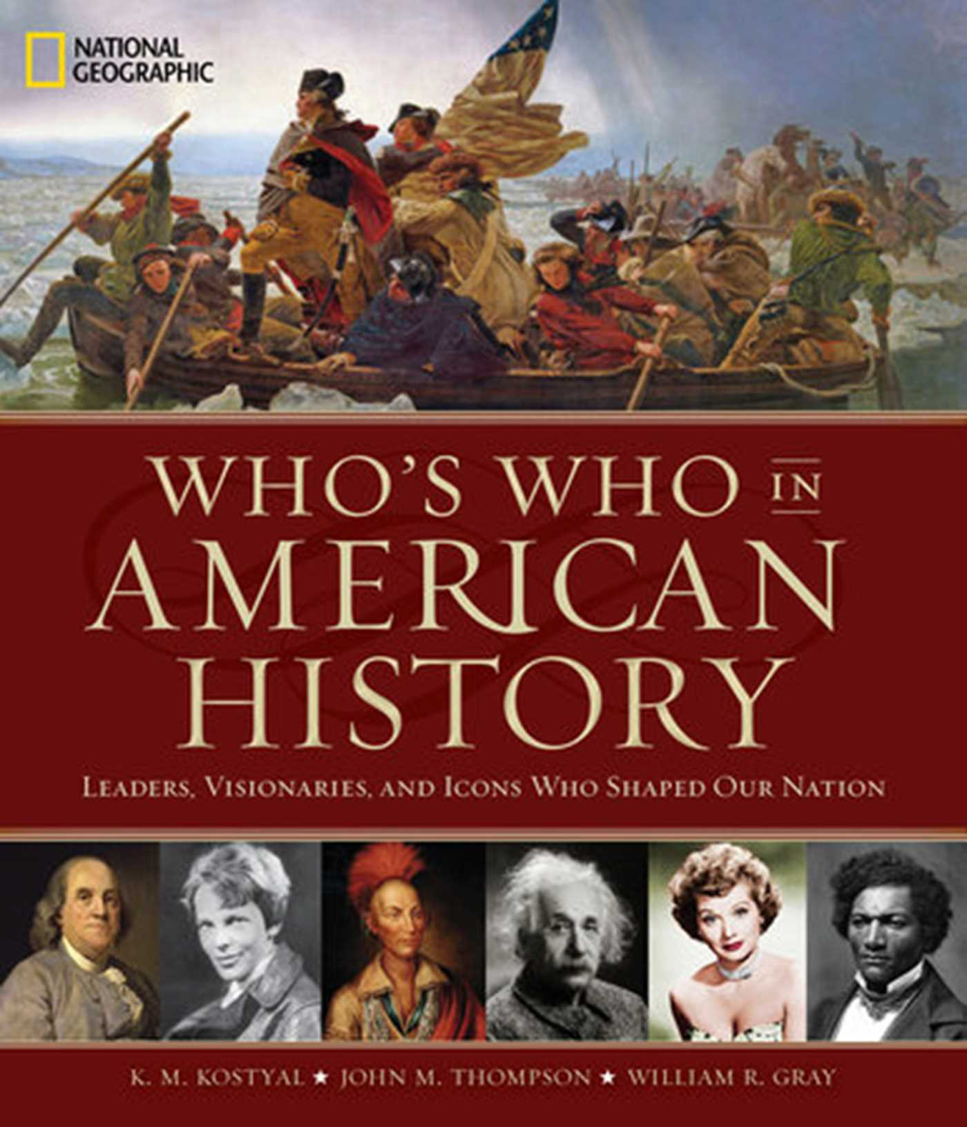 Whos who in american history leaders visonaries and icons who shaped our nation 9781426218347 hr