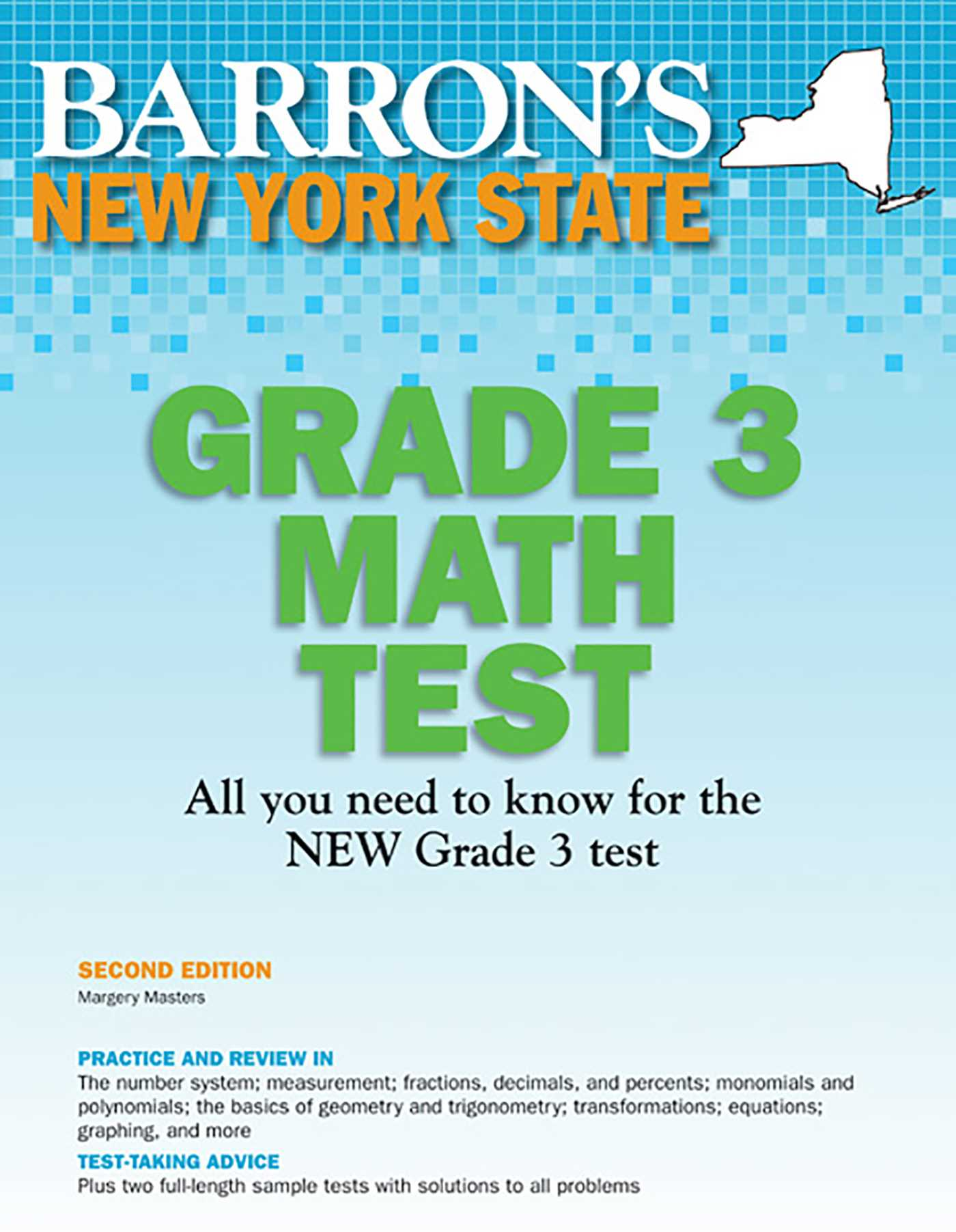 New York State Grade 3 Math Test | Book by Margery Masters M.S. Ed ...