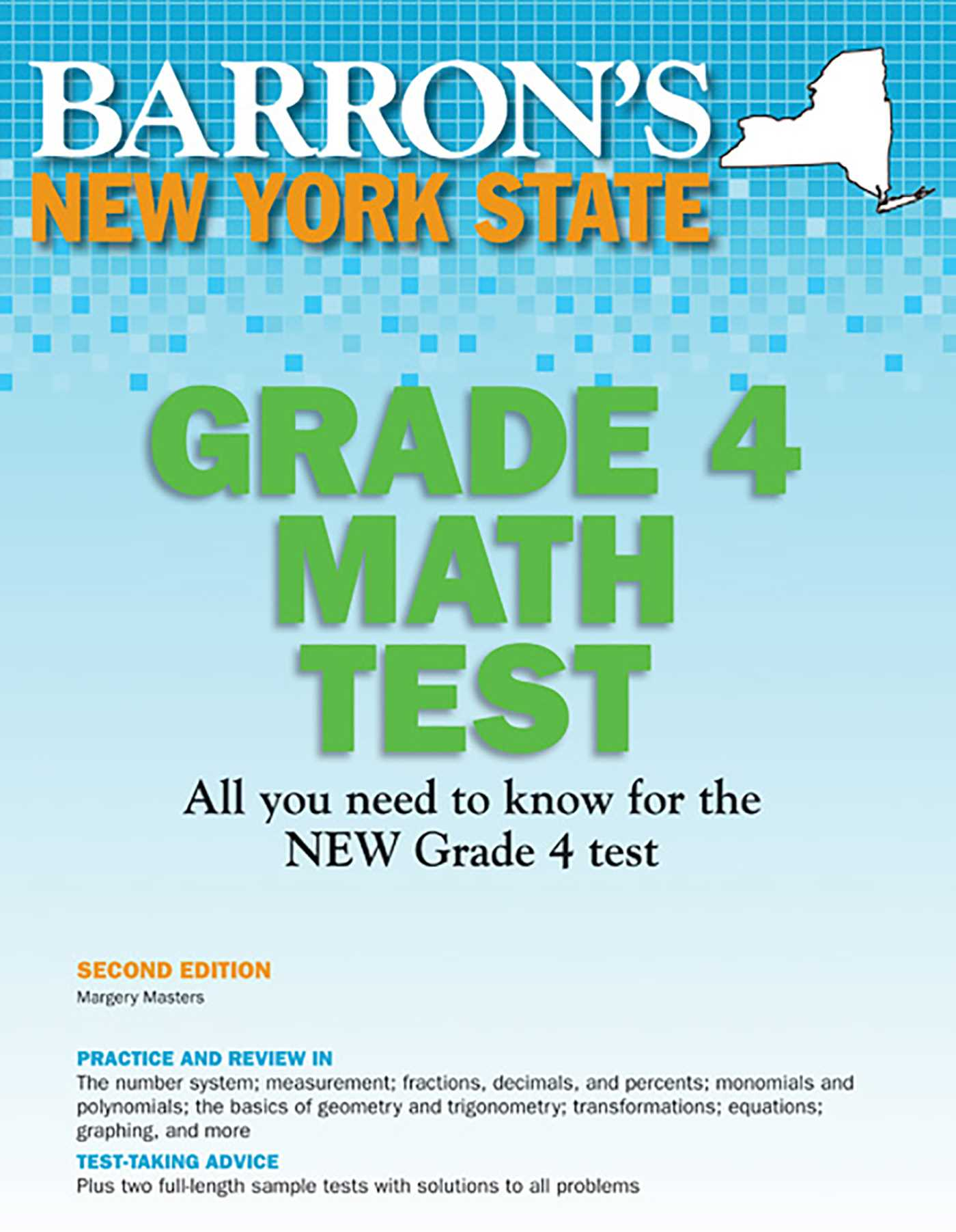 New York State Grade 4 Math Test | Book by Margery Masters