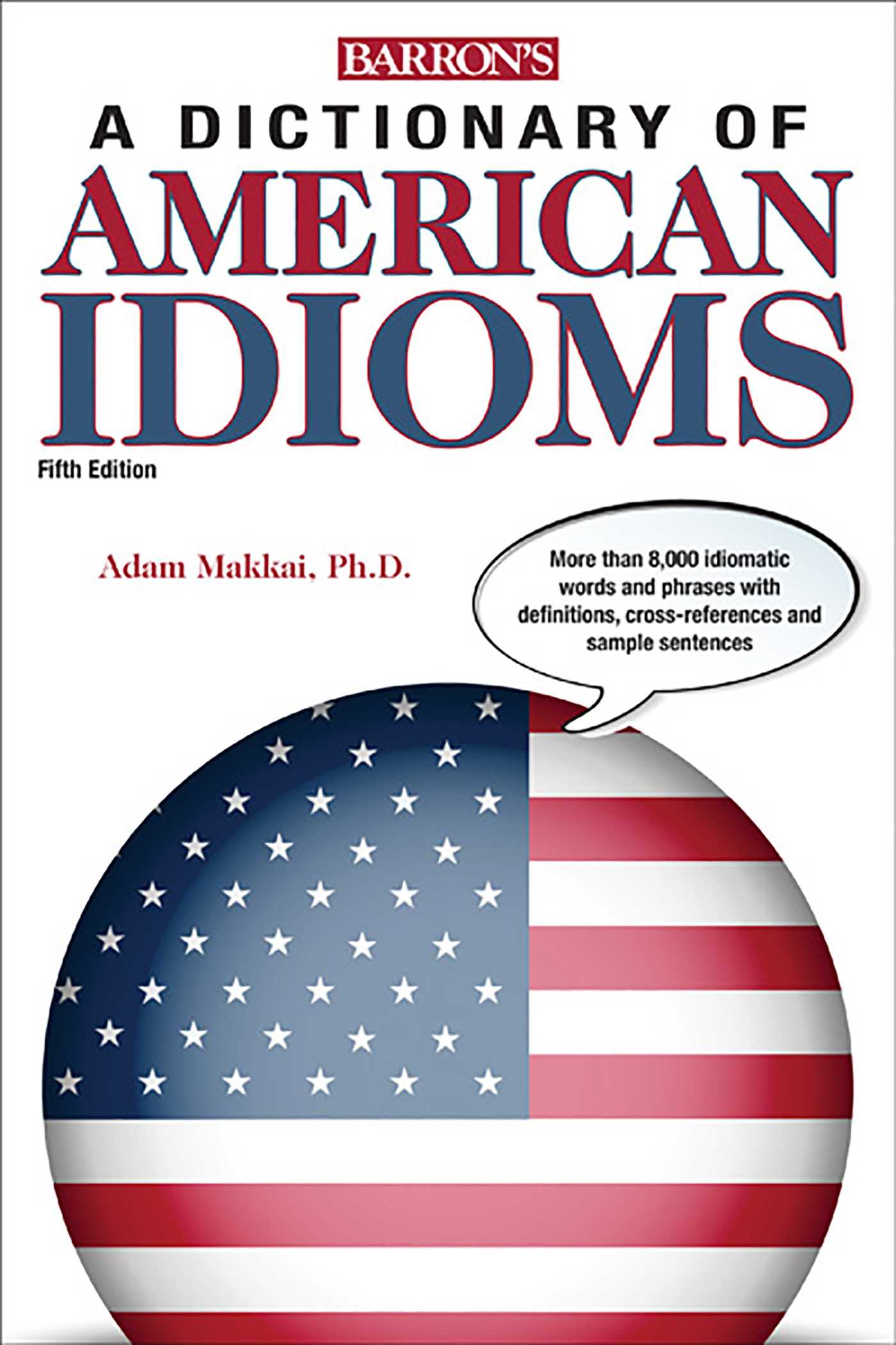Book Cover Image (jpg): Dictionary of American Idioms