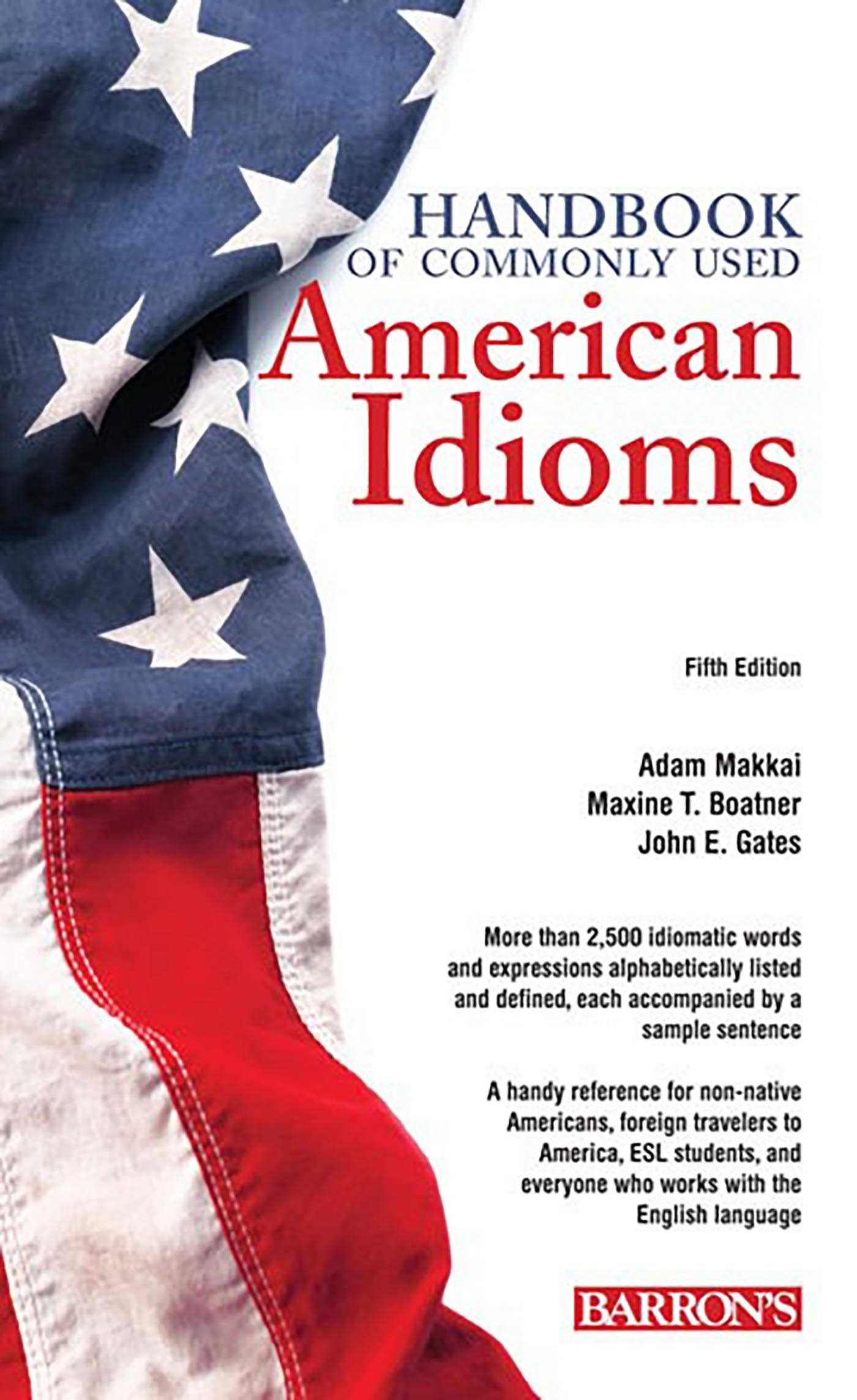 Book Cover Image (jpg): Handbook of Commonly Used American Idioms