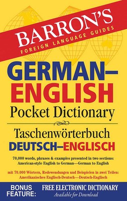 Barron's German-English Pocket Dictionary | Book by Ursula Martini
