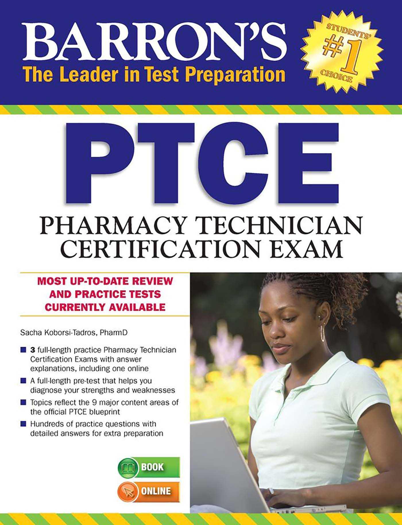 Barrons Ptcepharmacy Technician Certification Exam Book By Sacha