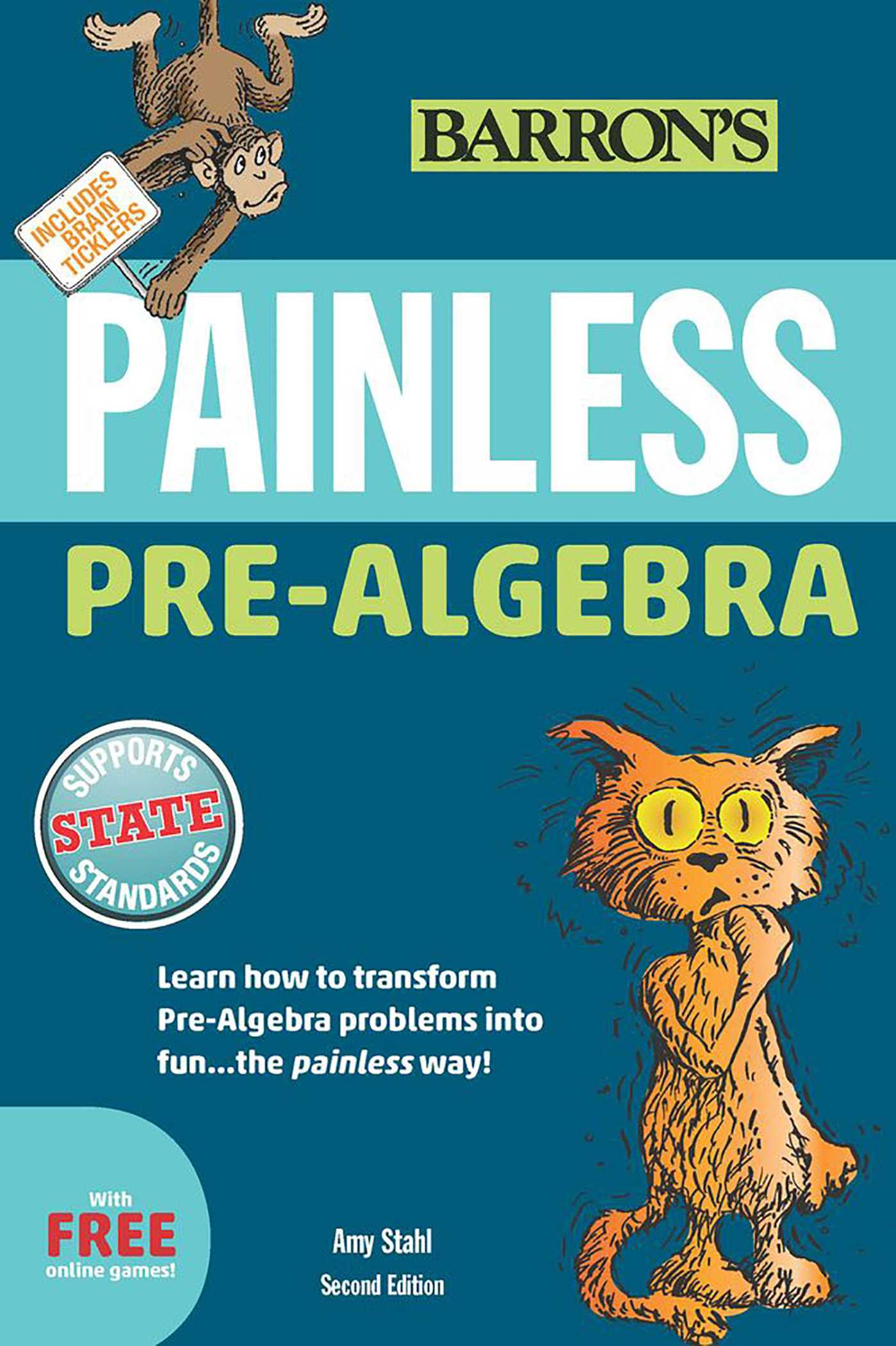 Painless Pre-Algebra | Book by Amy Stahl M S  Ed  | Official