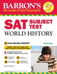 Barron's SAT Subject Test World History