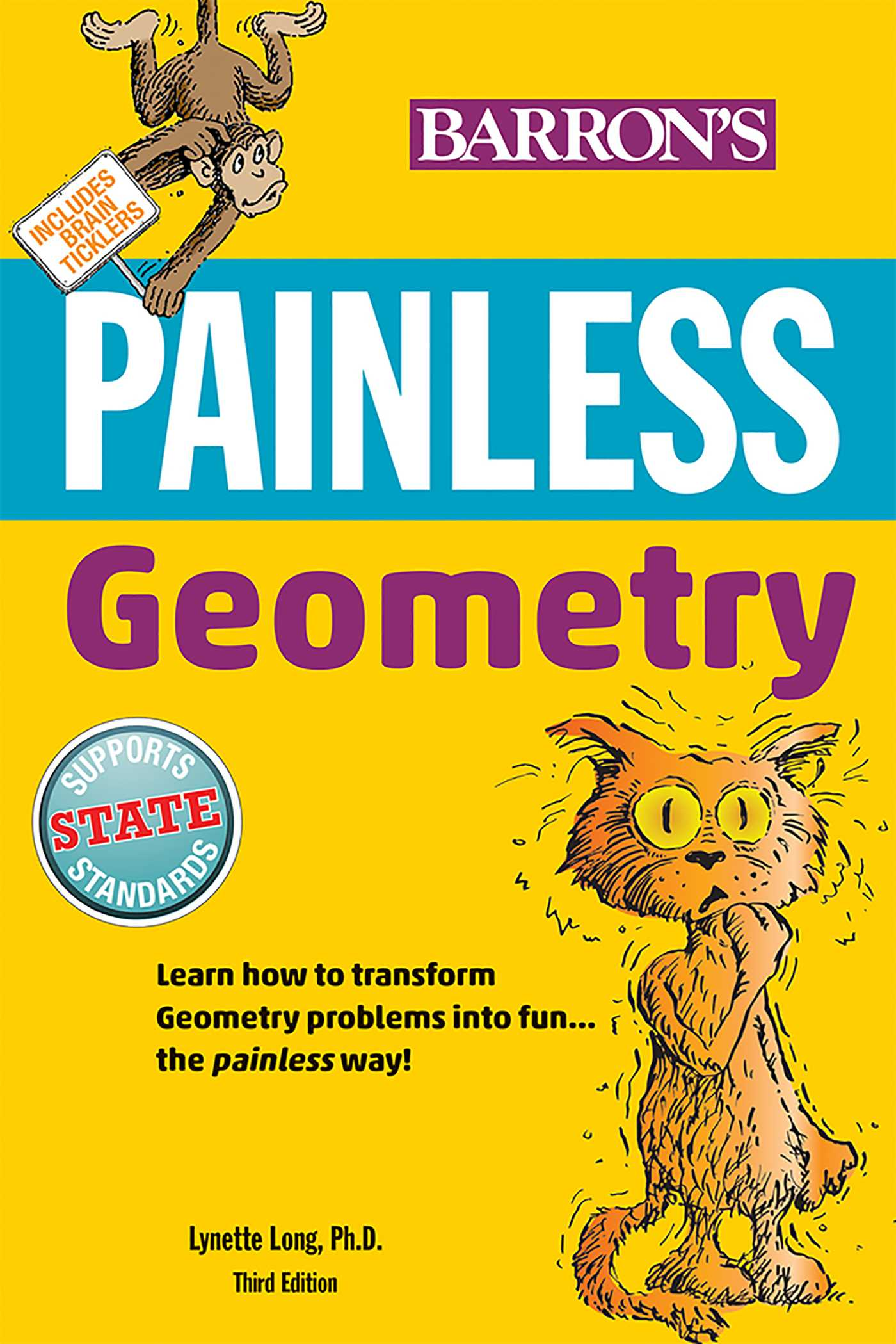 Painless Geometry   Book by Lynette Long Ph D    Official