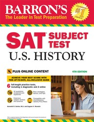 Barron's SAT Subject Test U.S. History