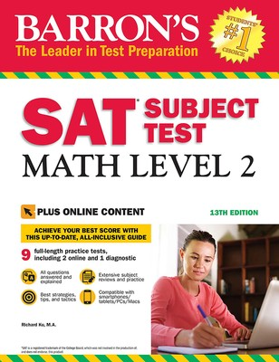Level barrons test sat subject 2 pdf math