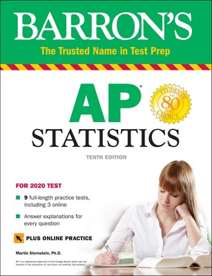Barron S AP Statistics With Online Tests Book By Martin