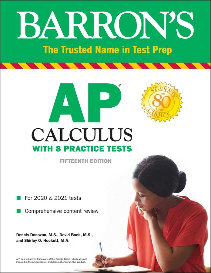 Ap Calculus Book By Dennis Donovan M S David Bock Shirley O Hockett Official Publisher Page Simon Schuster