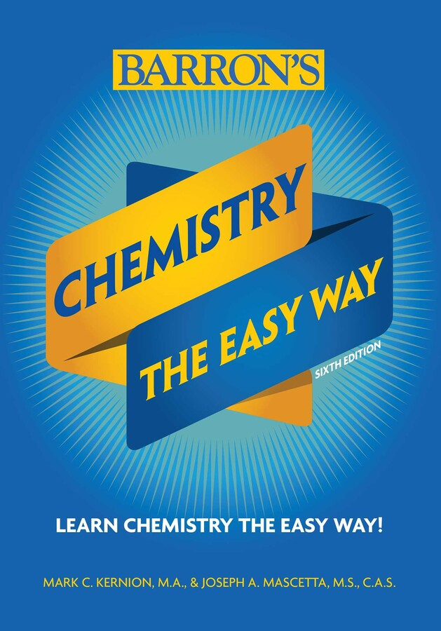 Chemistry The Easy Way Book By Joseph A Mascetta M S