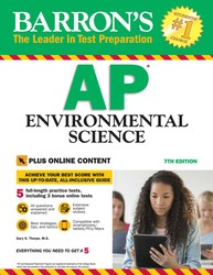 Barron's AP Environmental Science With Bonus Online Tests