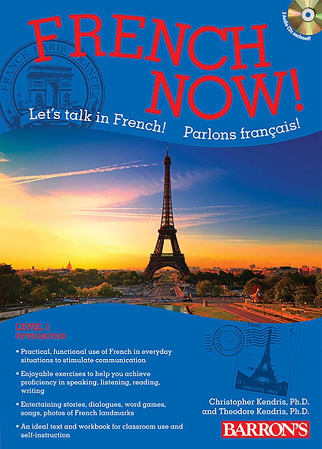 French Now! Level 1 with Audio Compact Discs | Book by