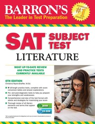 Barron's SAT Subject Test Literature with CD-ROM