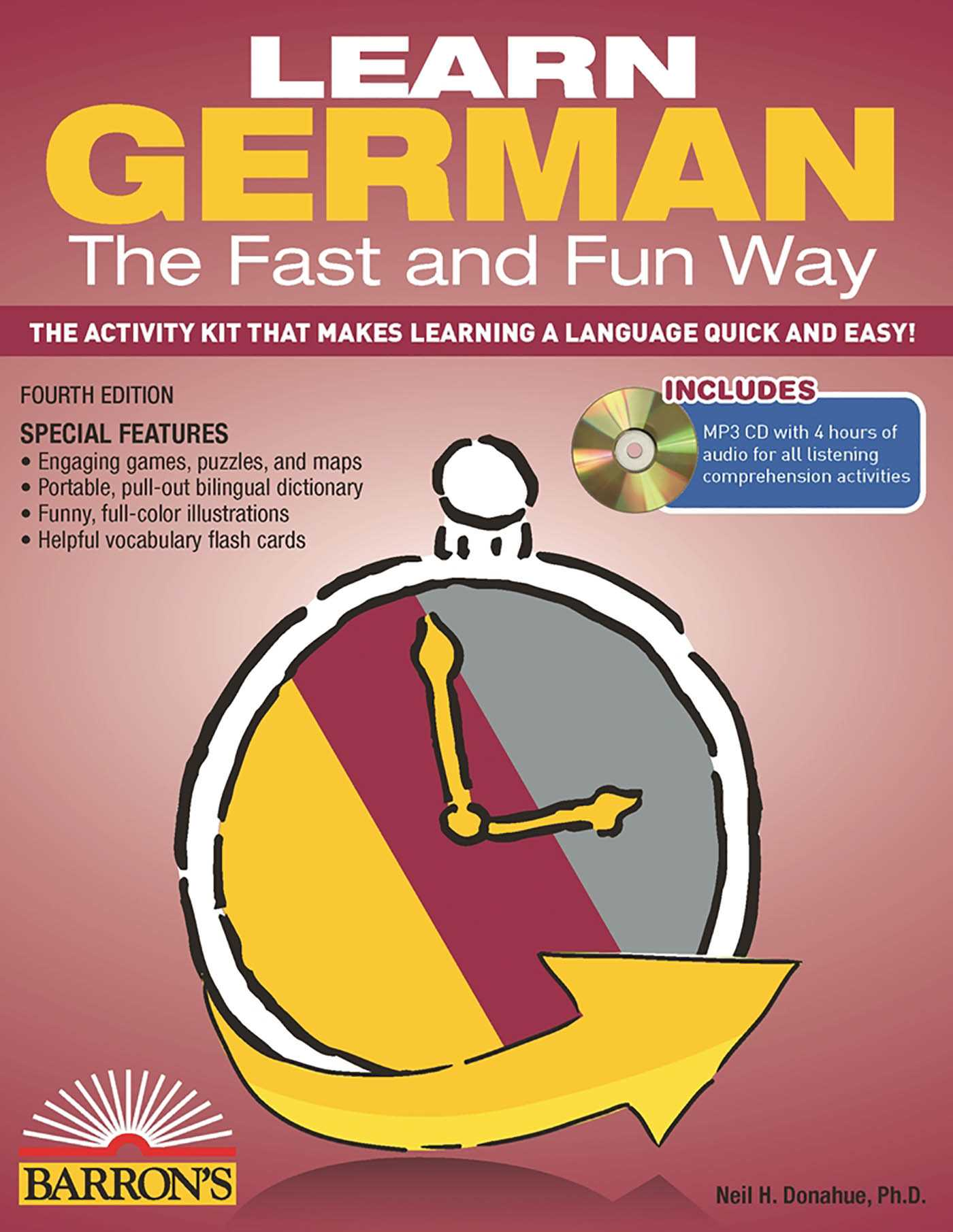 Fast In German >> Learn German The Fast And Fun Way With Mp3 Cd Book By Neil H