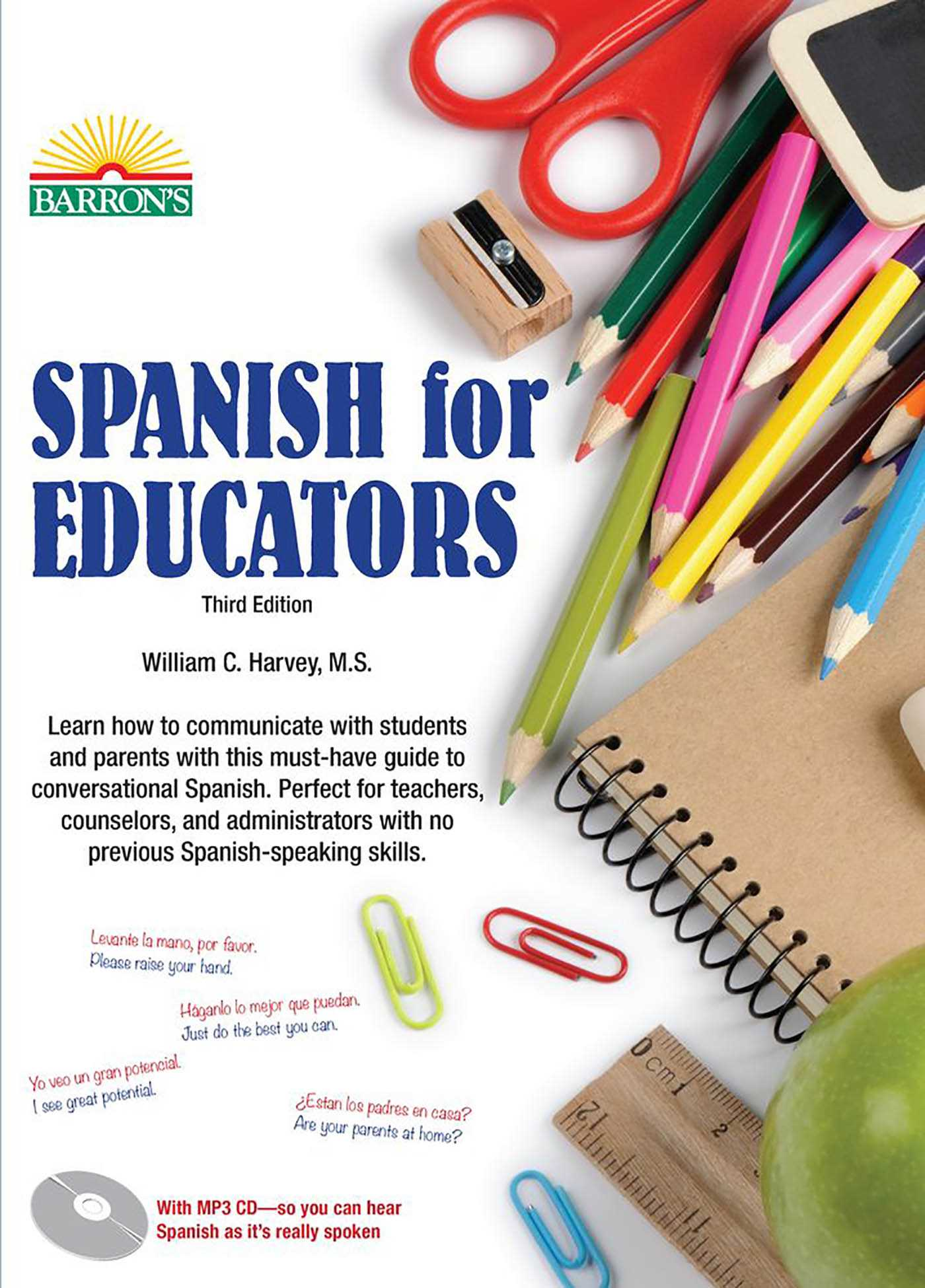 Spanish for Educators: with MP3 CD | Book by William C