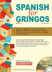 Spanish for Gringos, Level 1: with MP3 CD