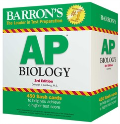 Barron's AP Biology Flash Cards