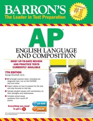 Barron's AP English Language and Composition with CD-ROM