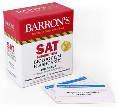 SAT Subject Test Biology E/M Flashcards - Book Summary