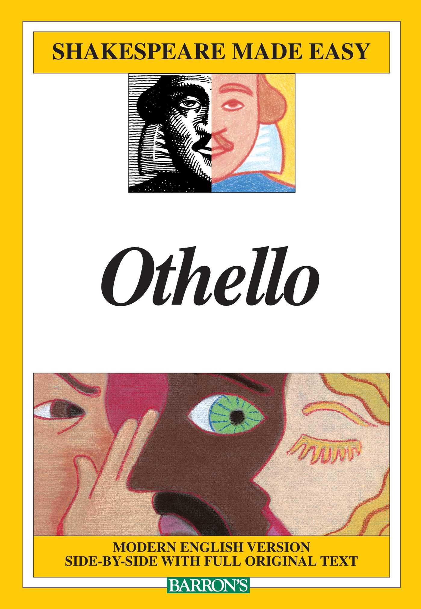 Book Cover Image (jpg): Othello (Shakespeare Made Easy)