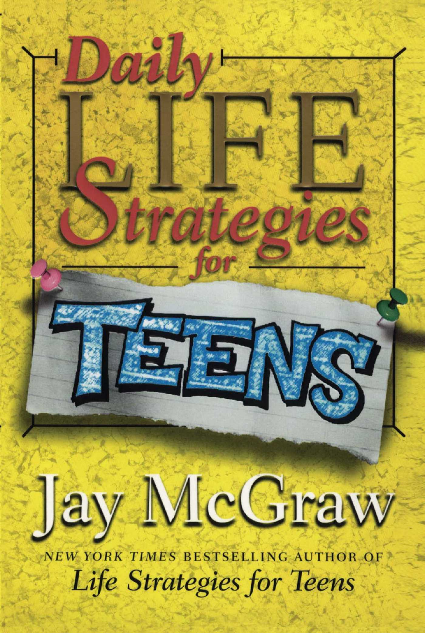 Daily life strategies for teens 9781439105023 hr