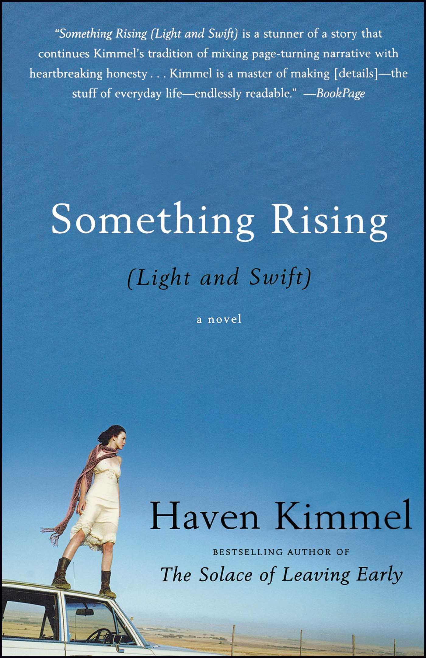 Something rising 9781439105078 hr