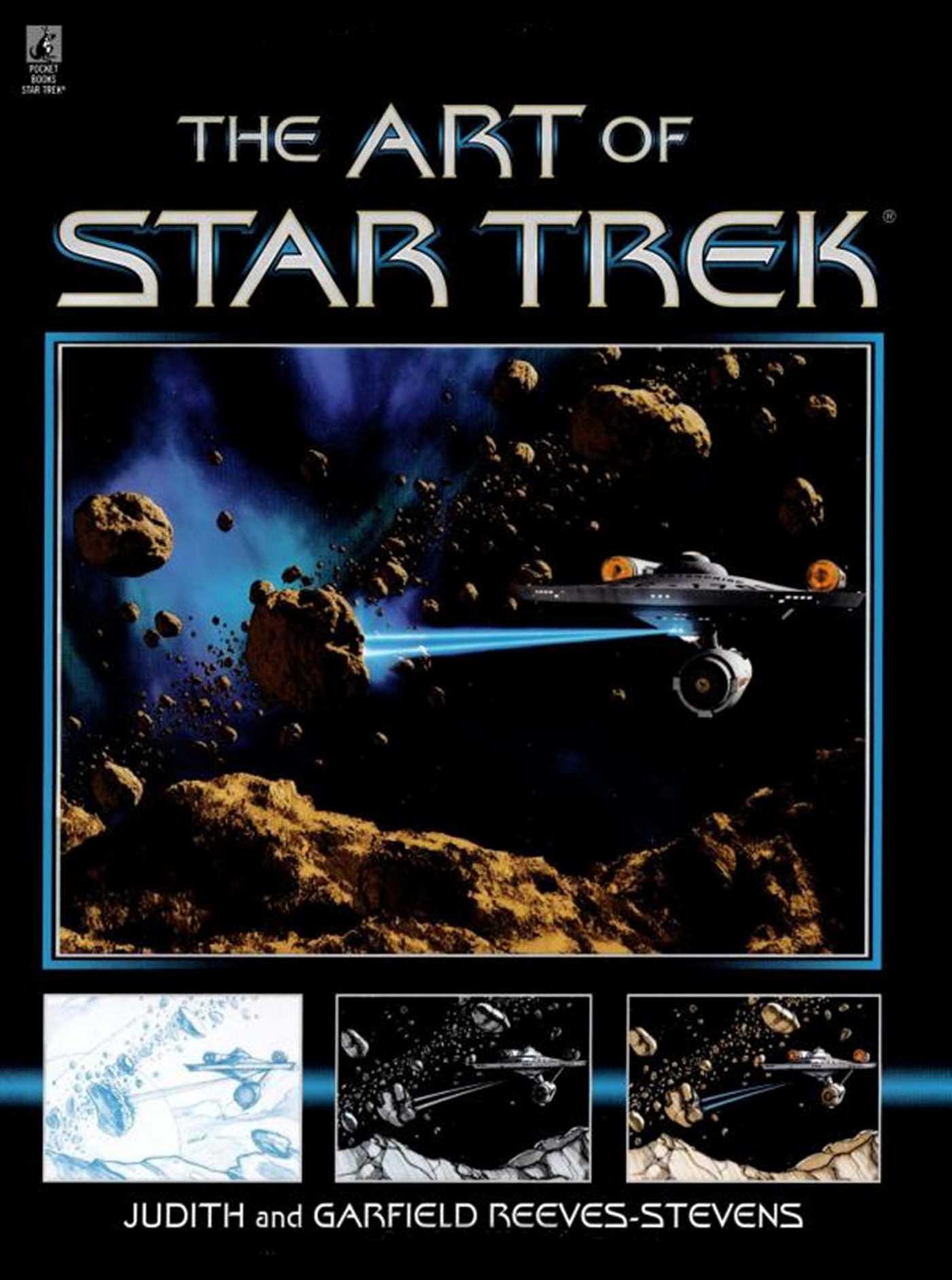 The art of star trek 9781439108550 hr