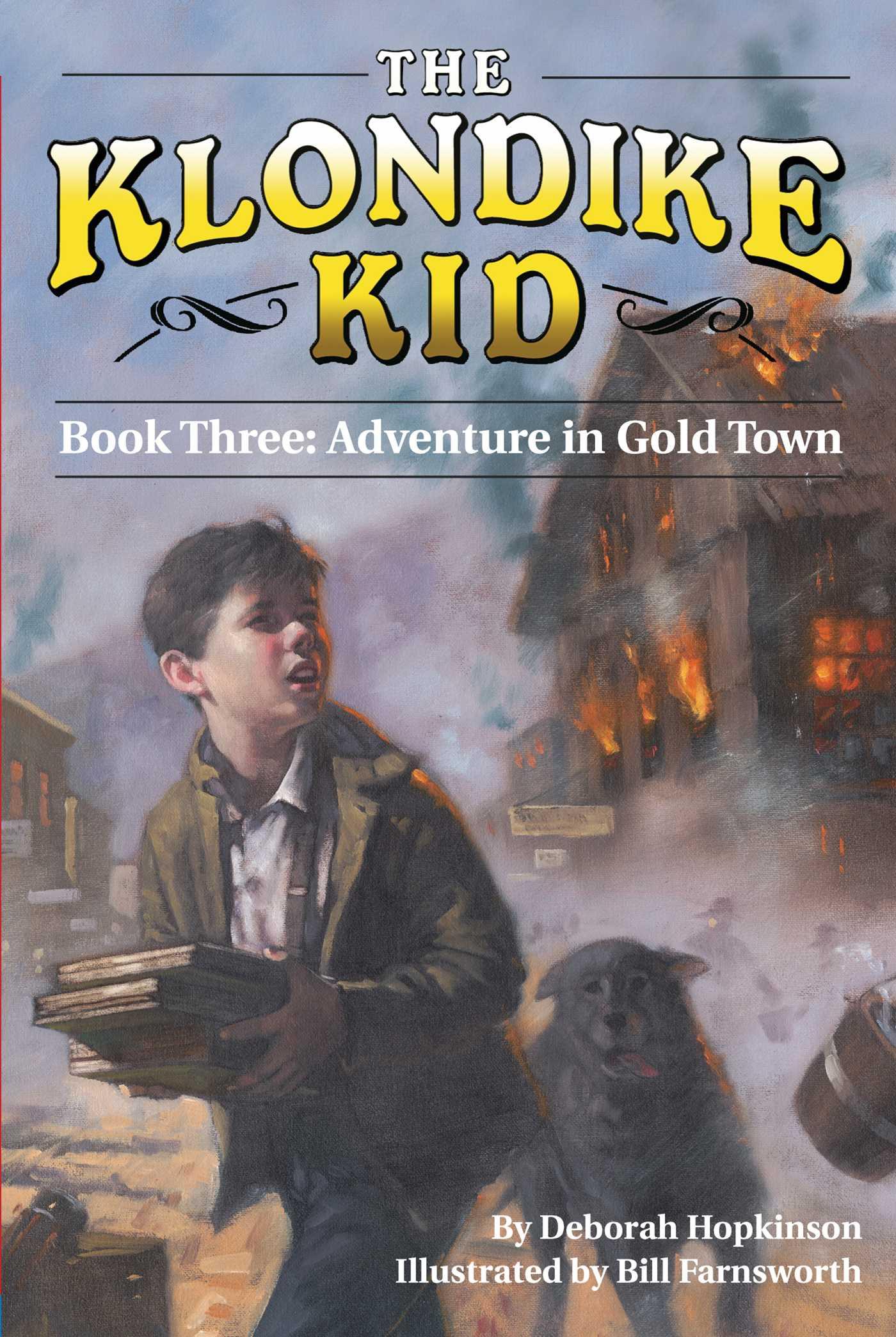 Adventure in gold town 9781439113660 hr
