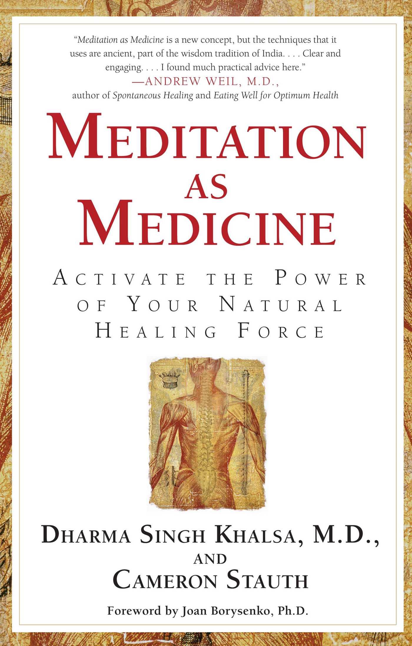 Meditation as medicine 9781439117538 hr