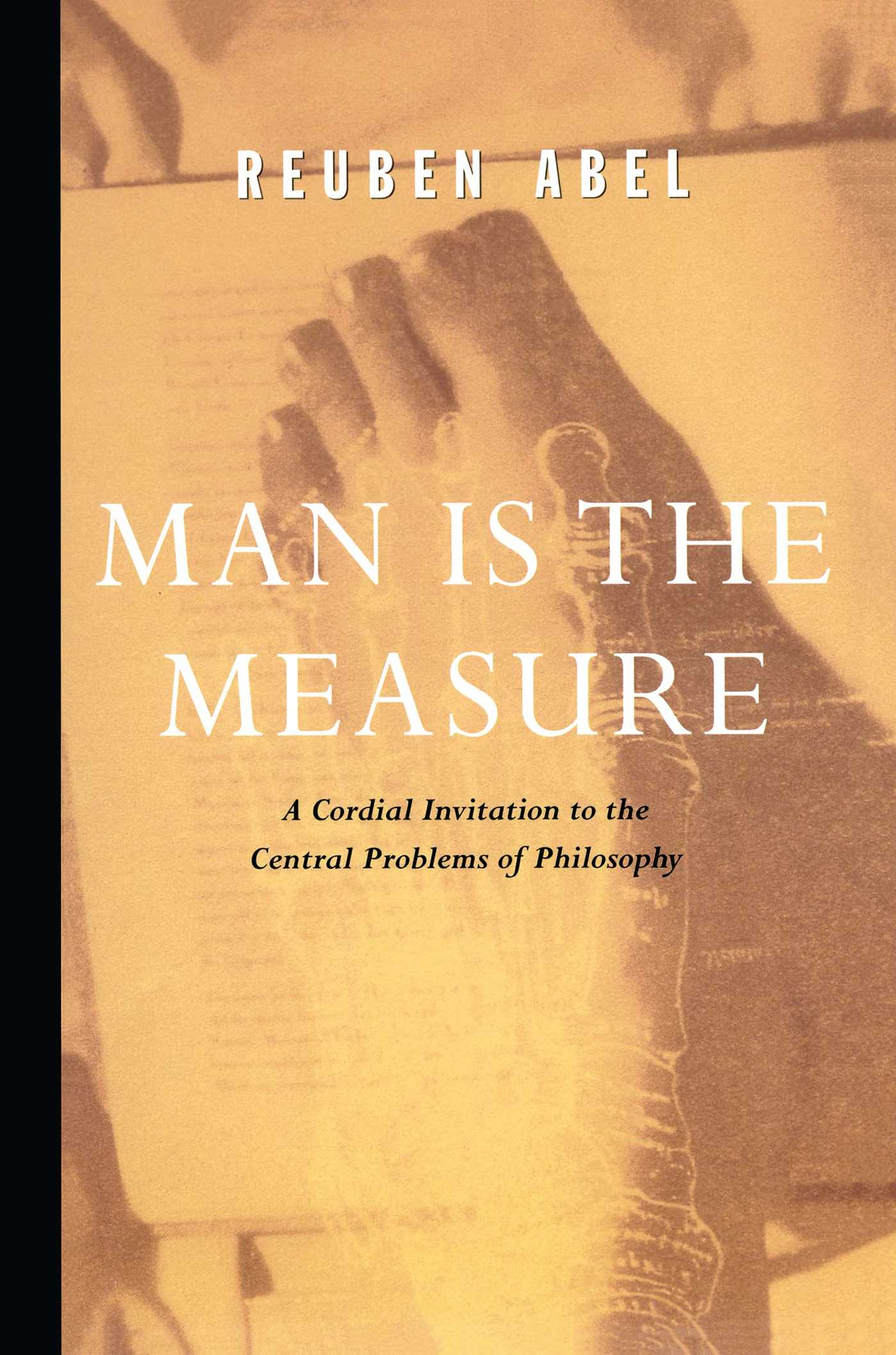Man is the measure 9781439118405 hr