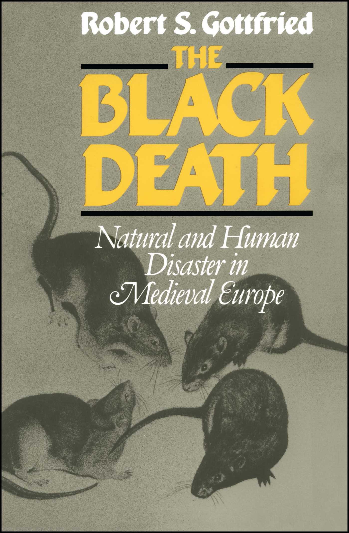Black death 9781439118467 hr