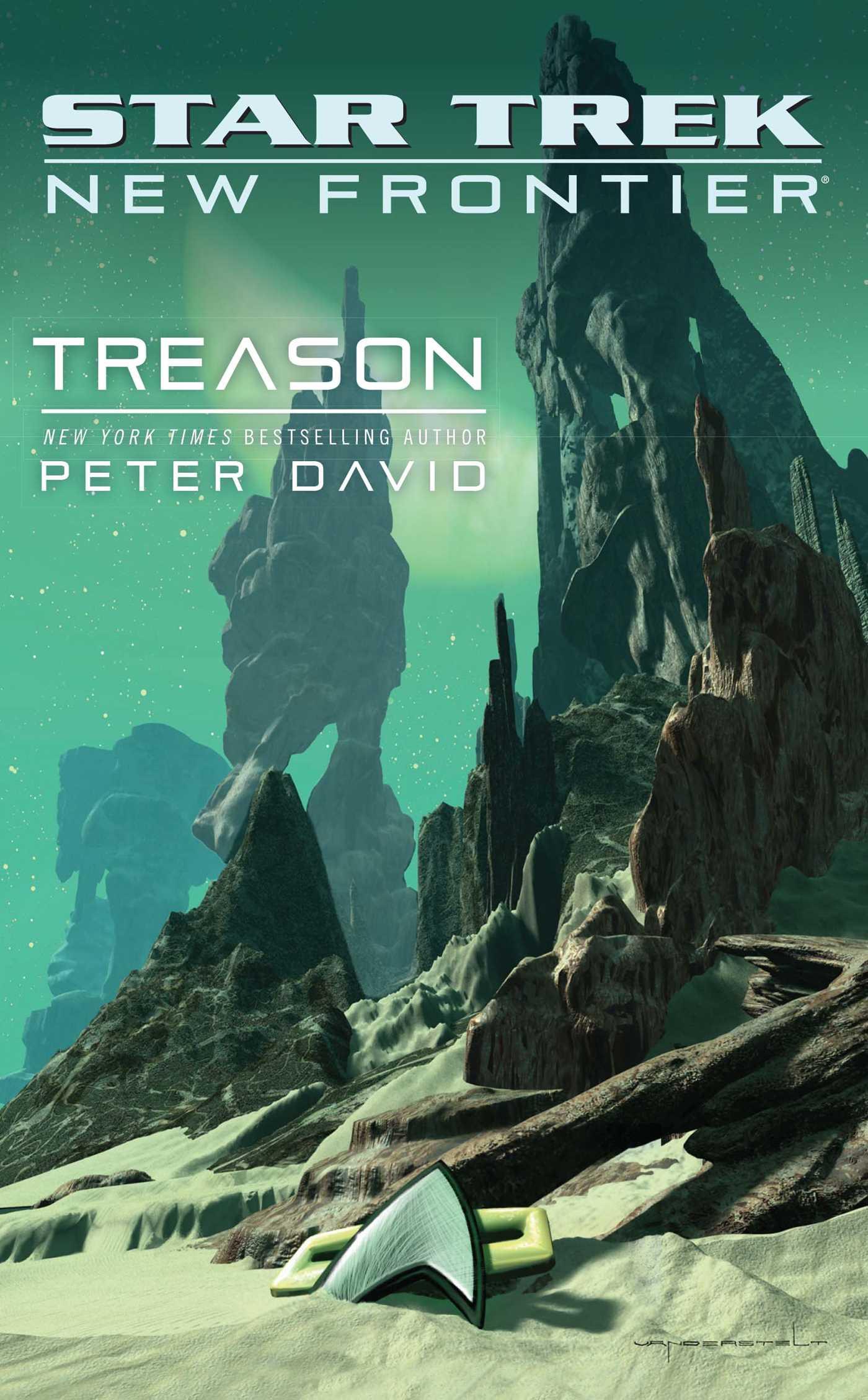 Star trek new frontier treason 9781439123393 hr
