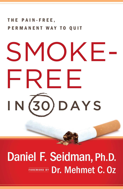 Smoke free in 30 days 9781439123553 hr