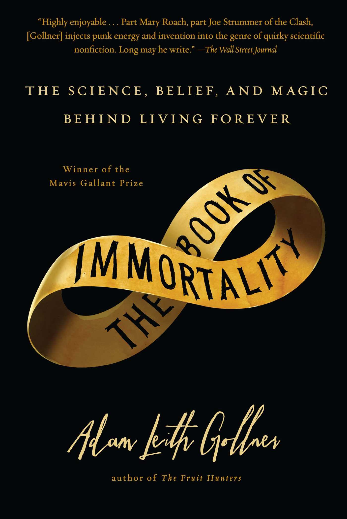 The book of immortality 9781439127889 hr