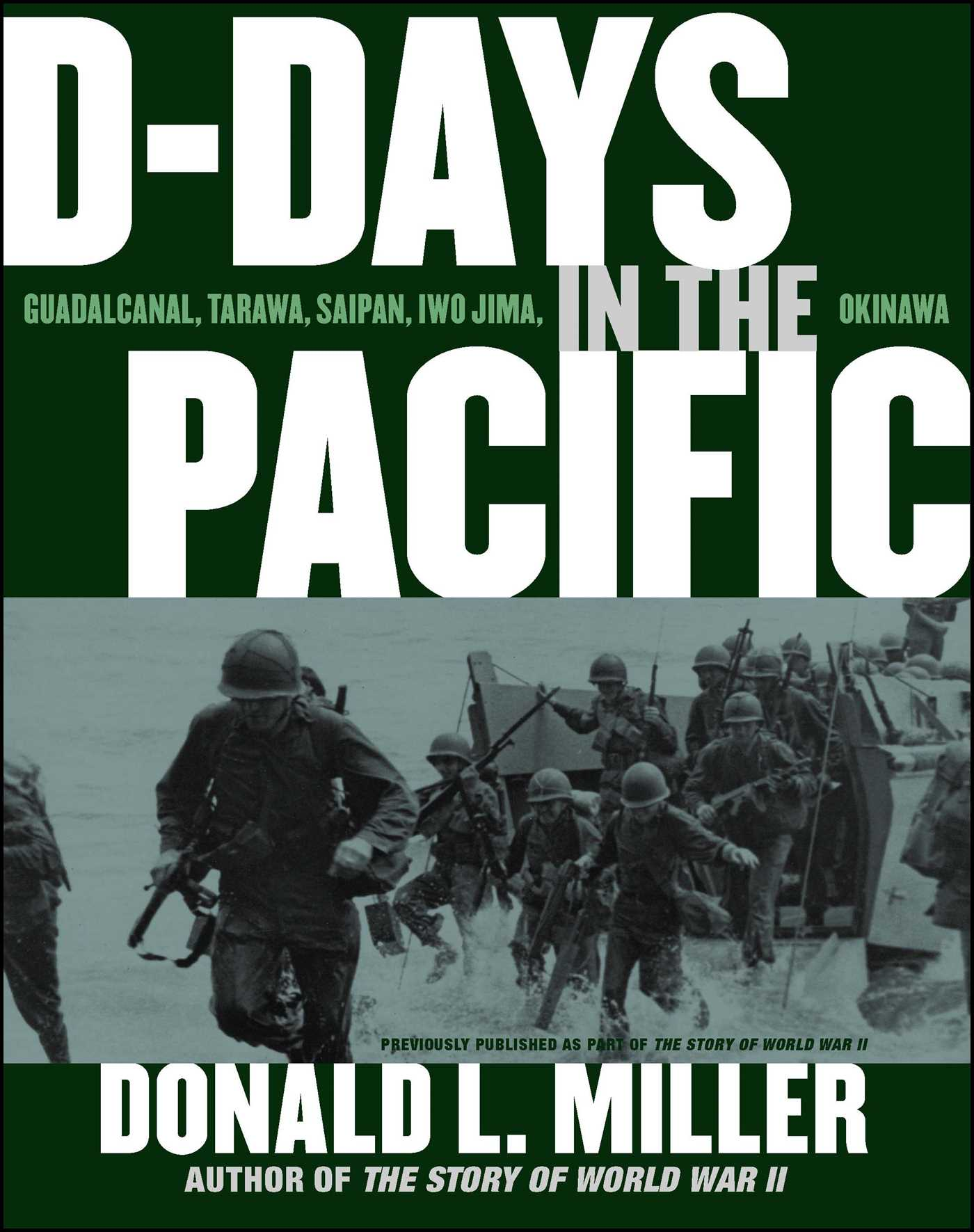 D days in the pacific 9781439128817 hr
