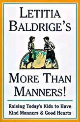 Letitia Baldrige's More Than Manners