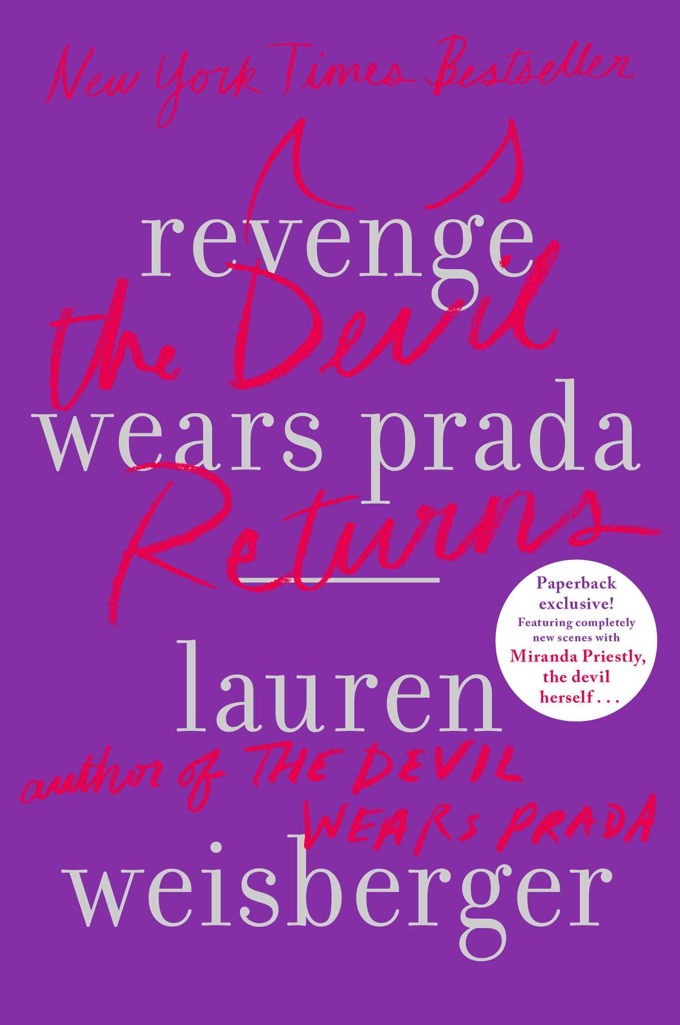 Revenge wears prada 9781439136645 hr