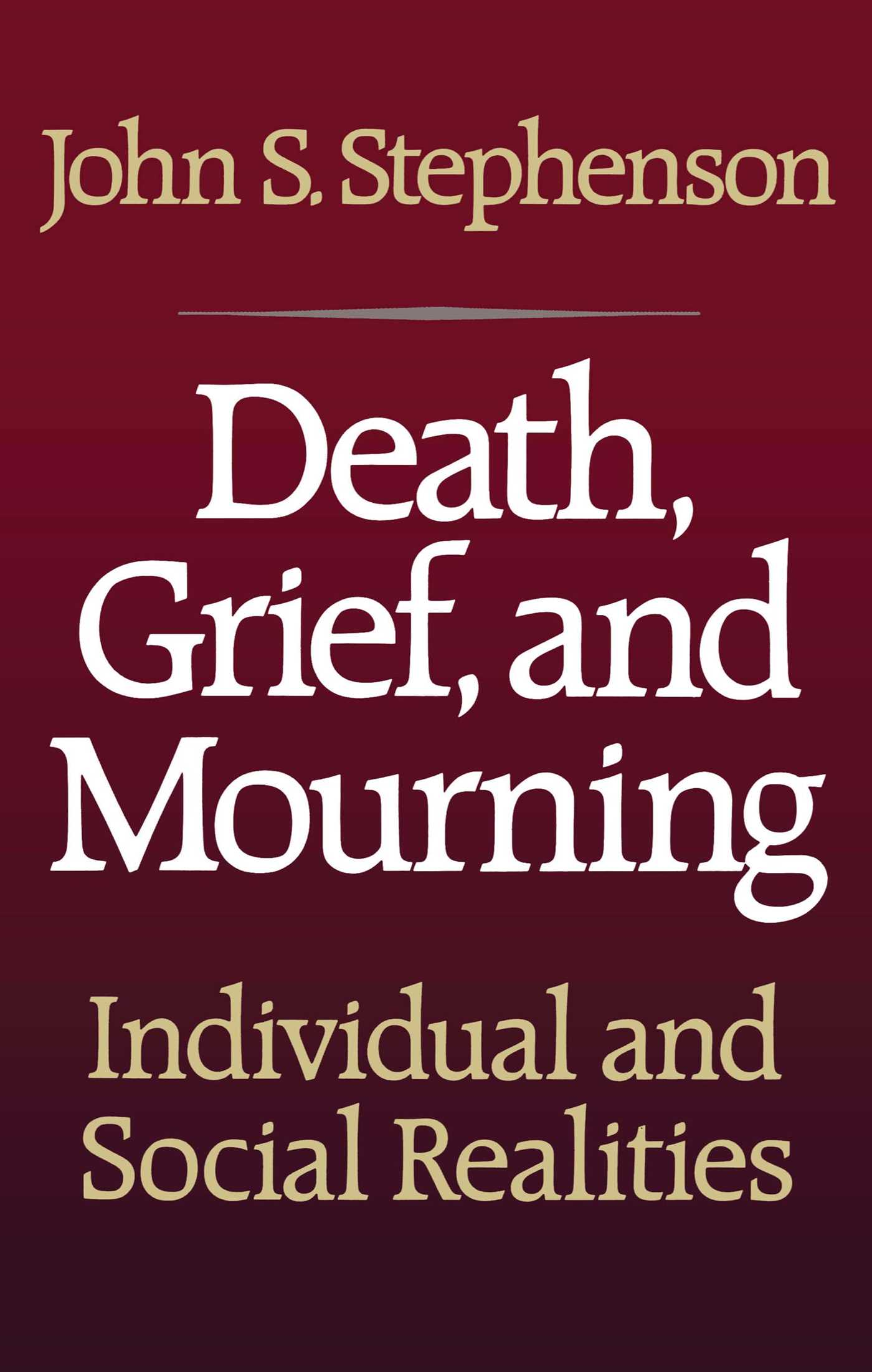 Death grief and mourning 9781439137185 hr