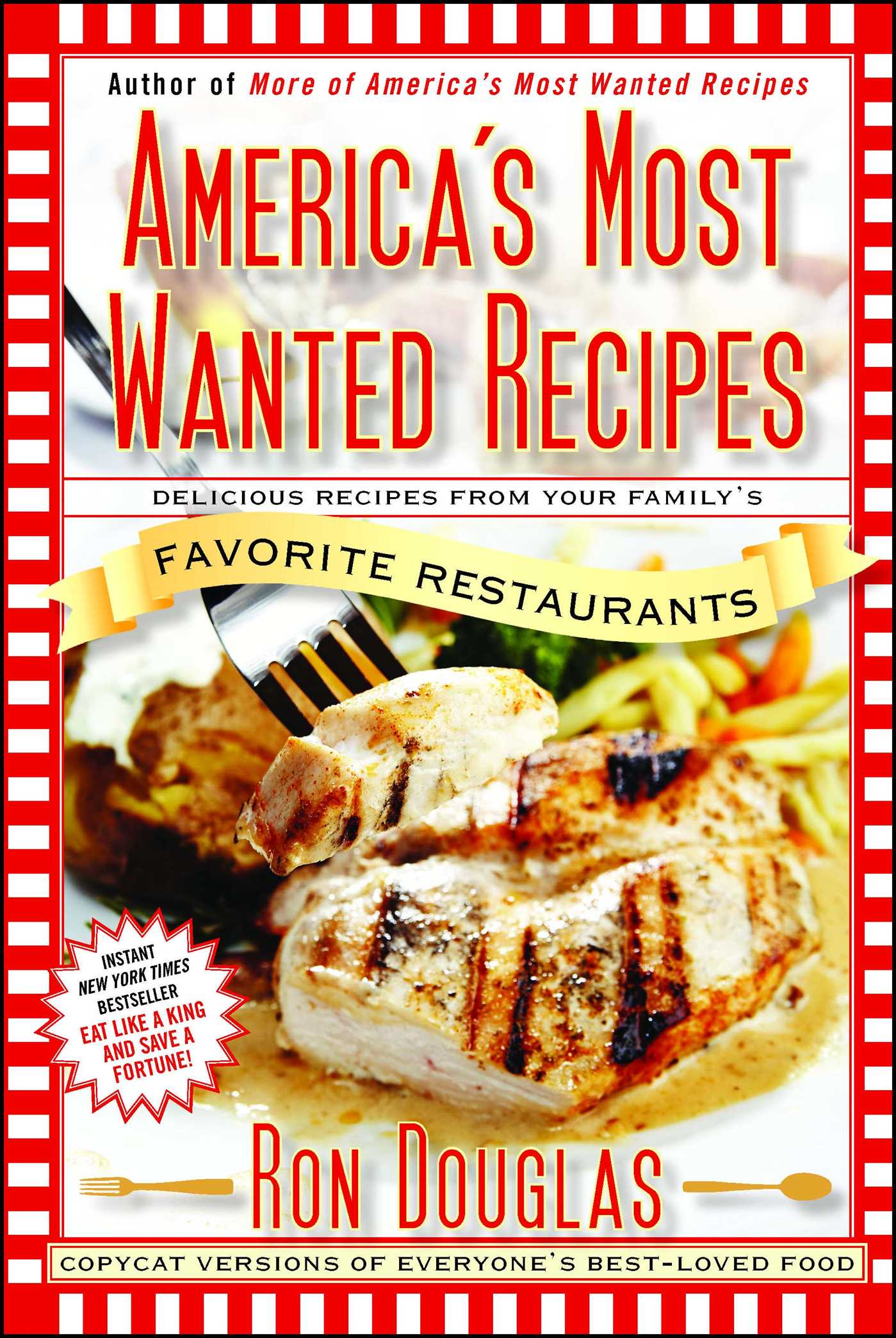 Americas most wanted recipes 9781439147061 hr