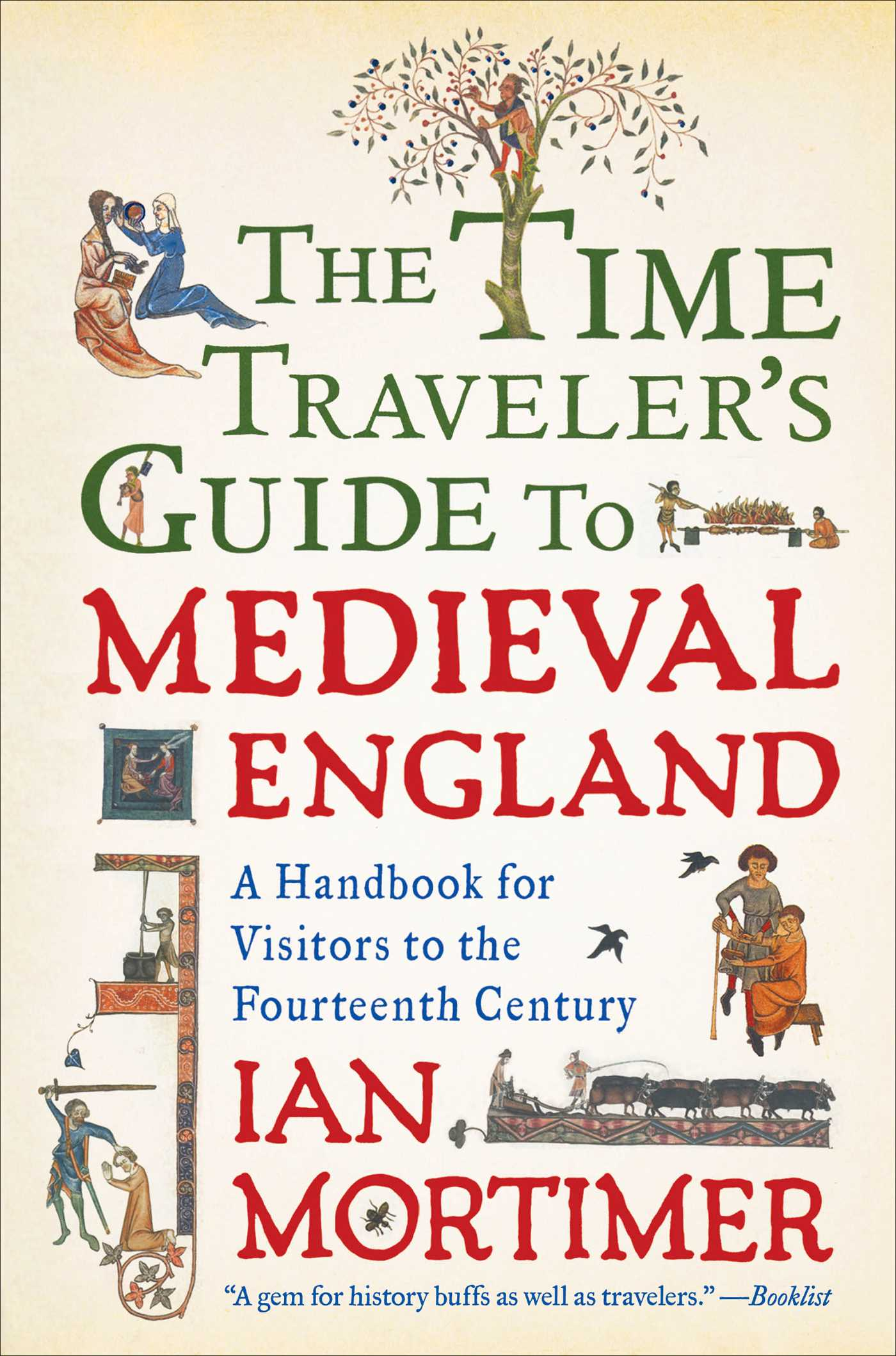 The time travelers guide to medieval england 9781439149140 hr