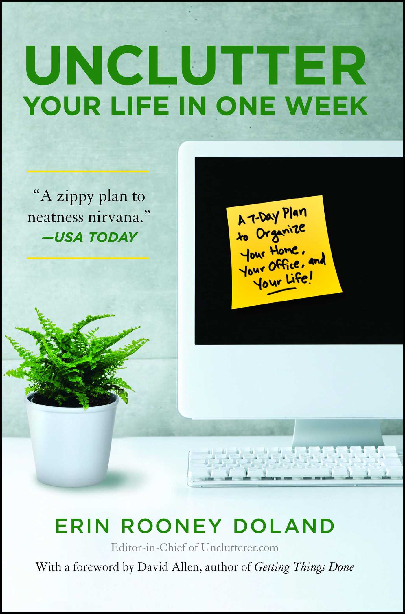 Unclutter your life in one week 9781439150474 hr