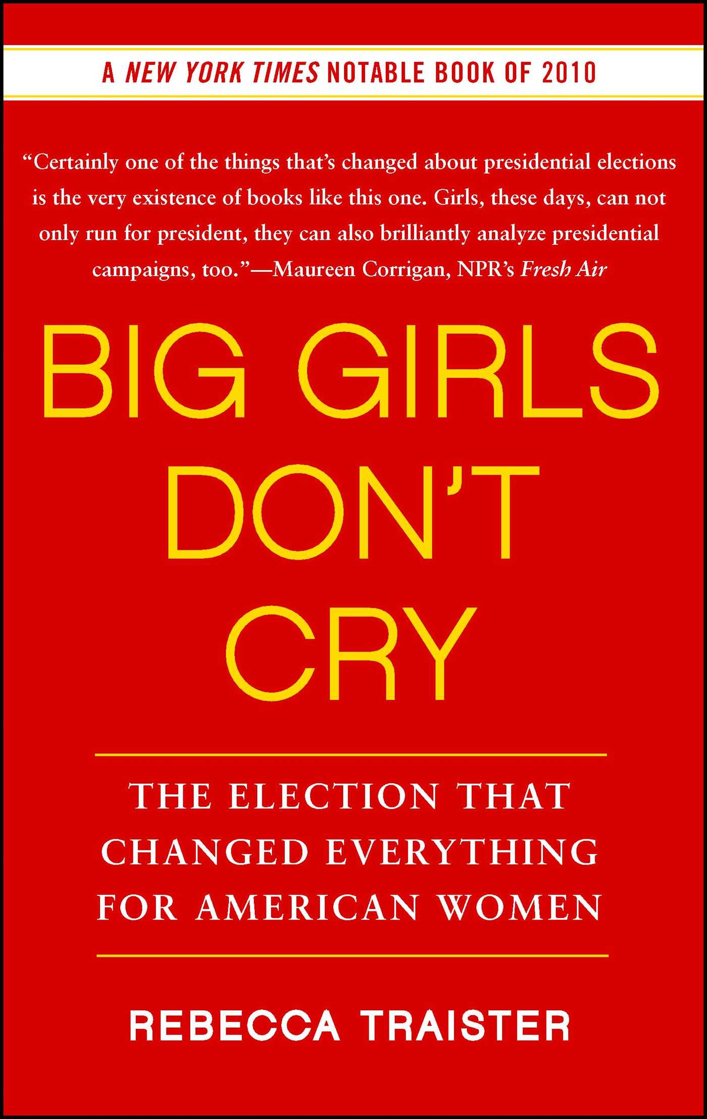 Big girls dont cry 9781439154878 hr