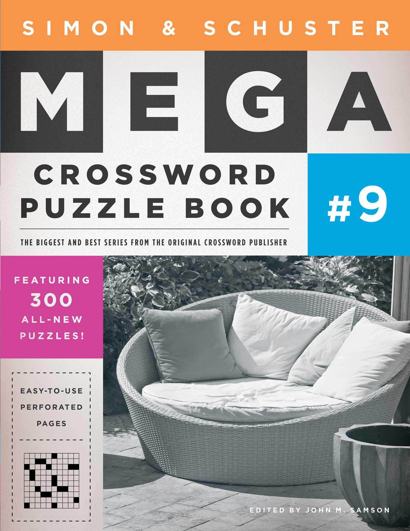 Simon schuster mega crossword puzzle book 9 9781439158104 hr