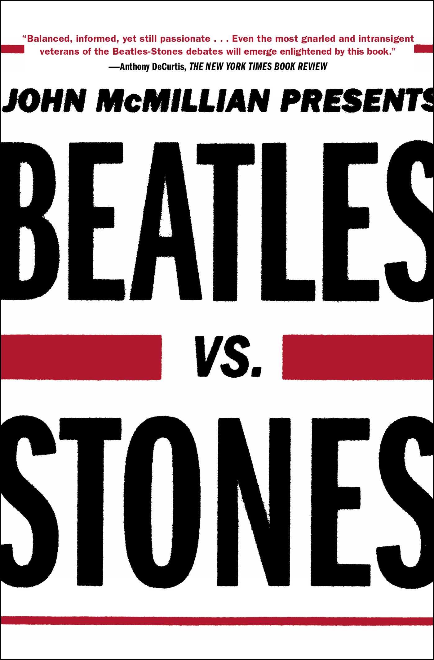 Beatles vs stones 9781439159705 hr